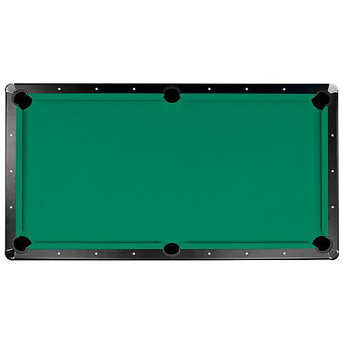 Hathaway Championship Saturn II 7 ft. Billiard Cloth Pool Table Felt in Green