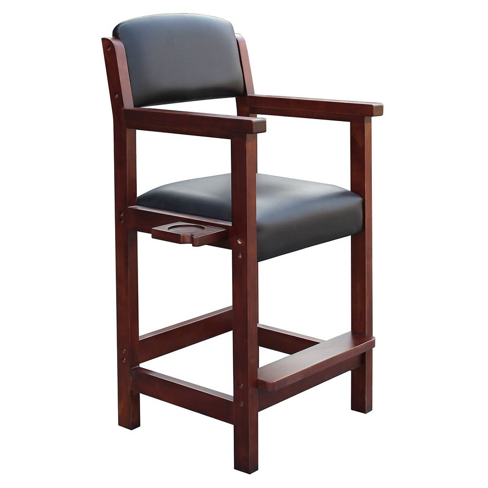Hathaway Cambridge Spectator Chair in Antique Walnut Finish