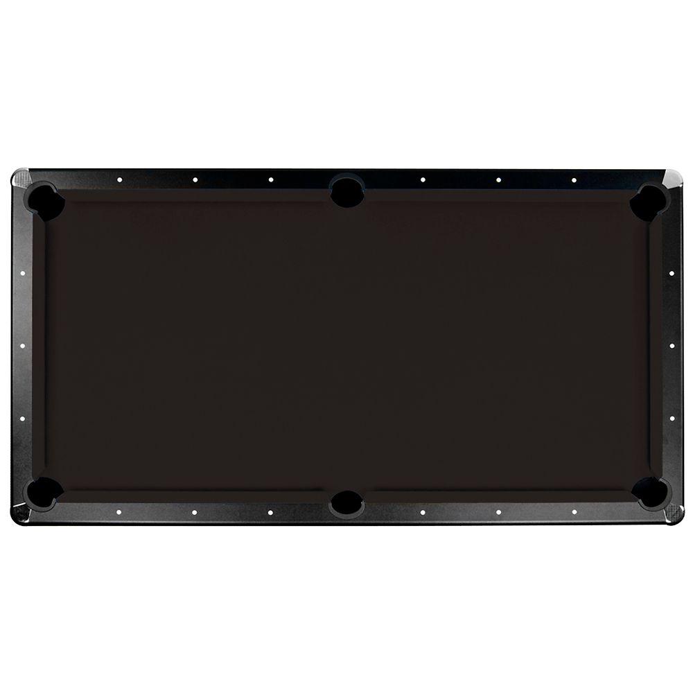 Championship Saturn II Billiard Cloth Pool Table Felt - 8- feet - Black