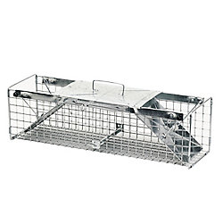 Havahart 24-inch x 7-inch x 7-inch 2-Door Large Rabbit Trap