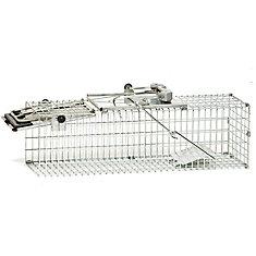 EZ Set 18-inch x 7-inch x 7-inch 1-Door Small Animal Trap