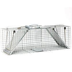 Havahart EZ Set 13-inch x 37-inch x 15-inch 2-Door Large Animal Trap