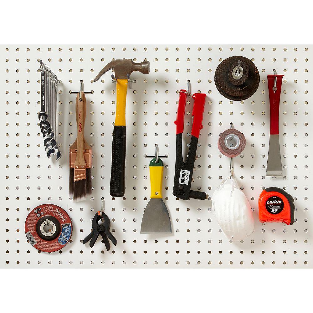 Everbilt 1/4-inch Peg Hooks (Assorted 32-Pack)