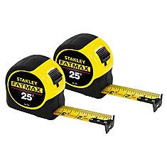 FATMAX 25 ft. Tape Measure (2-Pack)
