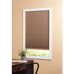 Home Decorators Collection Cordless Blackout Cellular Shade Dark Espresso 27-inch x 48-inch (Actual width 26.625-inch)