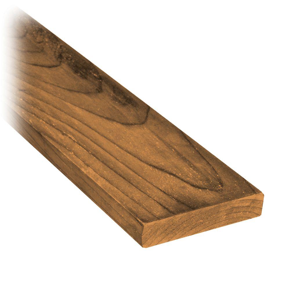 ProGuard 1 x 4 x 8' Treated Wood