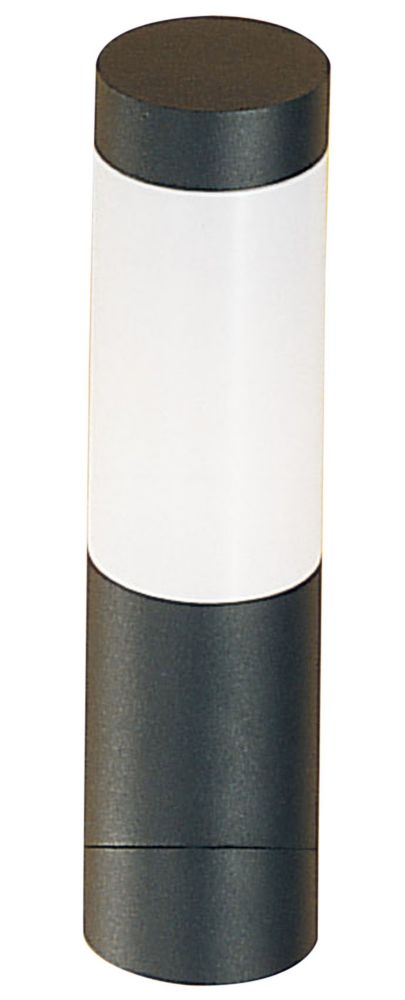 Sail 1 Outdoor Wall Light 1l, Anthracite Finish, Opal Frosted Plastic Shade