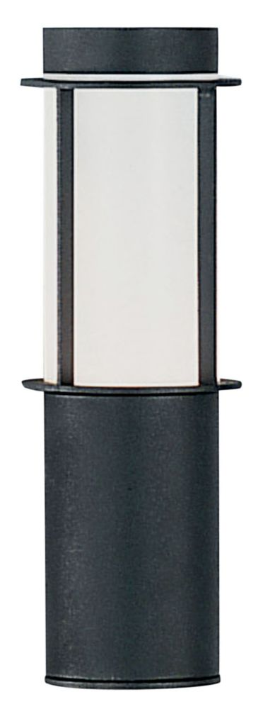 Sail Outdoor Wall Light 1l, Anthracite Finish, Opal Frosted Plastic Shade 83427A Canada Discount