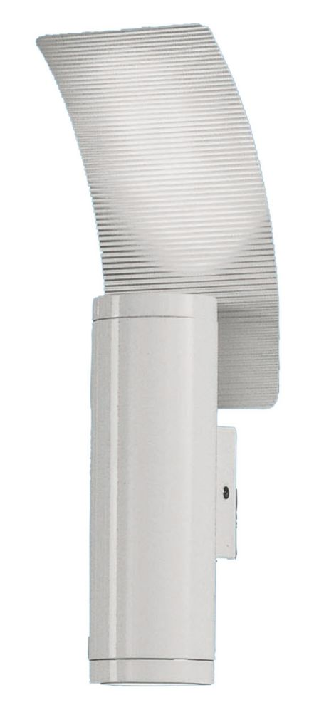 Riga 2 Outdoor Wall Light 2l, White Finish