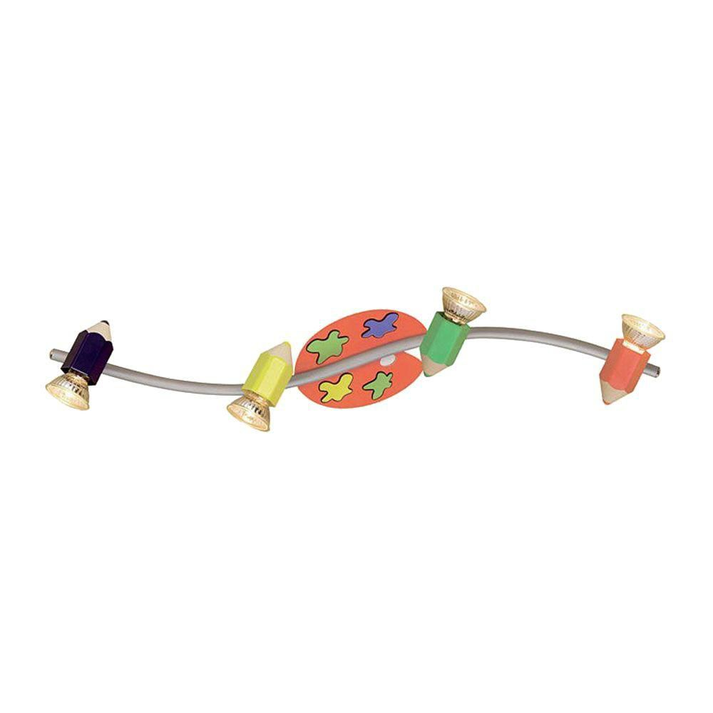 Nely Snail Wall Light 1l, Multi-Colored Finish