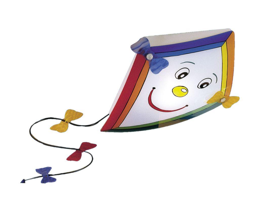 JEFF Plafonnier 1L, Fini Multicolore