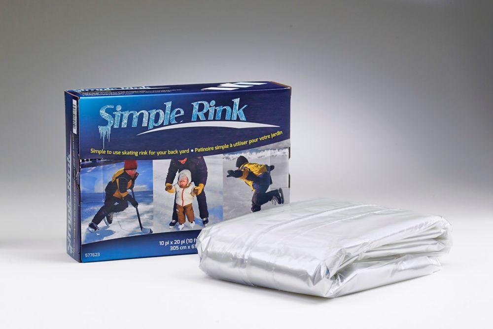 Simple Rink One-Freeze Skating Rink
