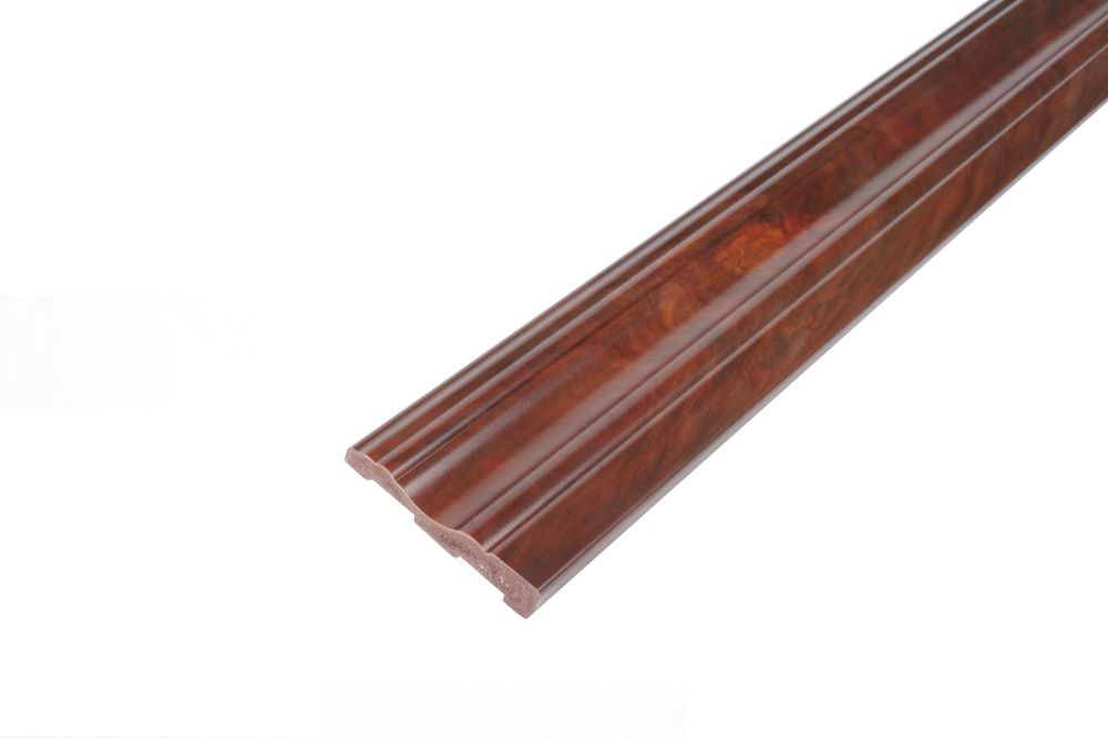 Casing - Prefinished Ready to Install - Fauxwood Cafe - 2-3/4 In. x 5/8 In. x 8 Ft.