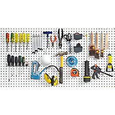 43 Pc Peg hook assortment
