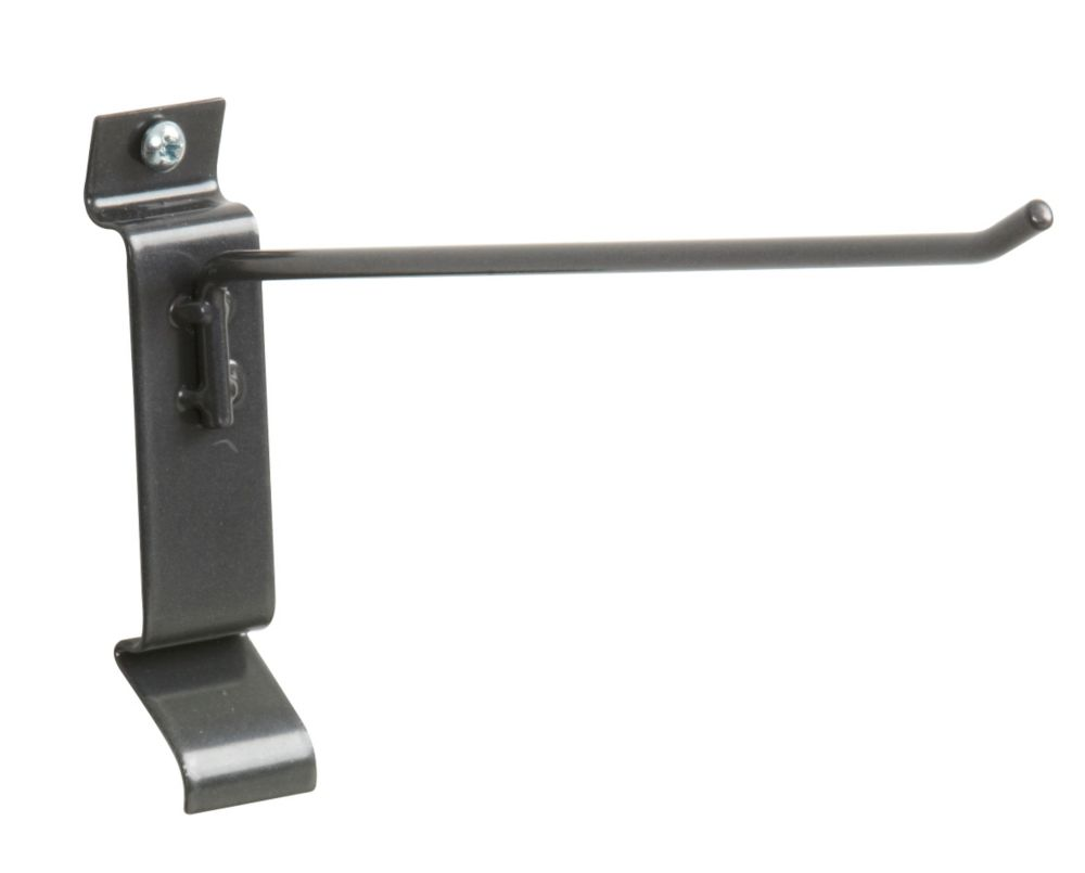 Metal Mini Slatwall Hook 8 Inch.