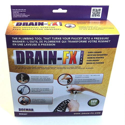Drain-Fx Plus With Universal Adaptor