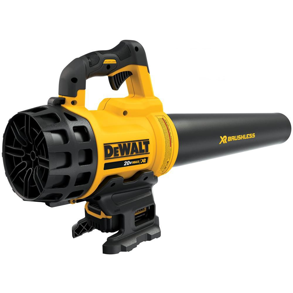 DEWALT 90 MPH 400 CFM 20V MAX Li-Ion Cordless Handheld Leaf Blower with 5.0Ah Battery and Charger Included