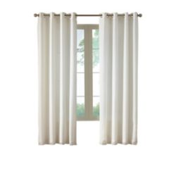 Home Decorators Collection Grommet, Ivory, 54 x 84