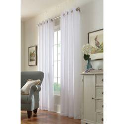 Home Decorators Collection Grommet, White, 54 x 84