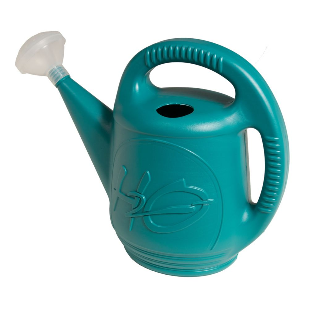 Watering Can H2O Blue 2 Gallon