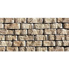 Antique Mini Beltis Garden Wall Stones in Sandy Beige