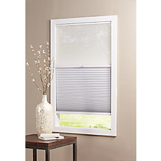 Cordless Day/Night Cellular Shade Sheer/Shadow White 27-inch x 48-inch (Actual width 26.625-inch)