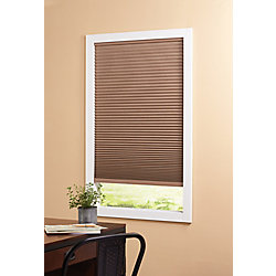 Home Decorators Collection Cordless Blackout Cellular Shade Dark Espresso 48-inch x 48-inch (Actual width 47.625-inch)
