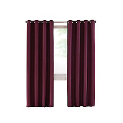 Home Decorators Collection Grommet, Aubergine, 54 x 95