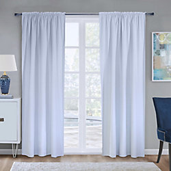 Home Decorators Collection 100% Blackout Curtain Liner Universal Hanging 45 inches width X 88 inches length, White