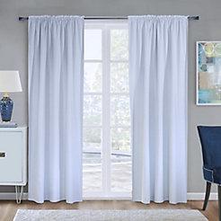 Home Decorators Collection Blackout Curtain Liner White 45X88