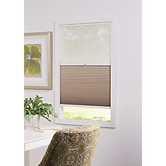 Cordless Day/Night Cellular Shade Sheer/Sahara 36-inch x 48-inch (Actual width 35.625-inch)