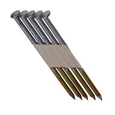 3-1/4  Inch  x 0.131  Inch  30 Degree Hot Dipped Galvanized Smooth Shank Nails (4,000 per Pack)