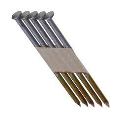 Grip-Rite Clous 30degrés à tige lisse galvanisée par immersion à chaud de 3-1/4 x 0,131po (4000 par paquet)