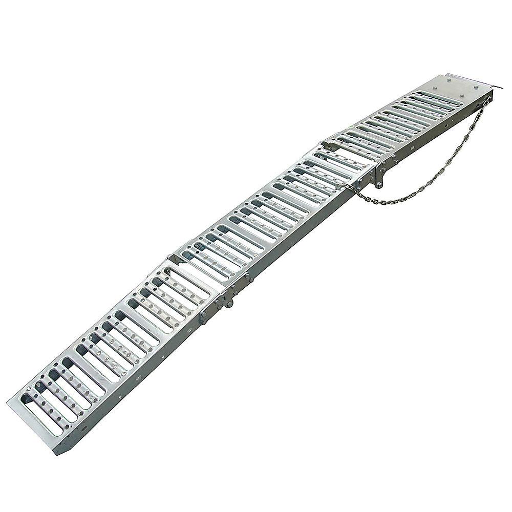 Erickson Pair Tri-Fold Steel Ramps 9 In. x 72 In. 1000 lbs