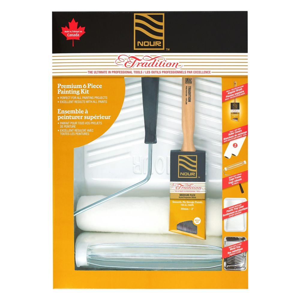 Nour Tradition 6 Piece Premium Painting Kit