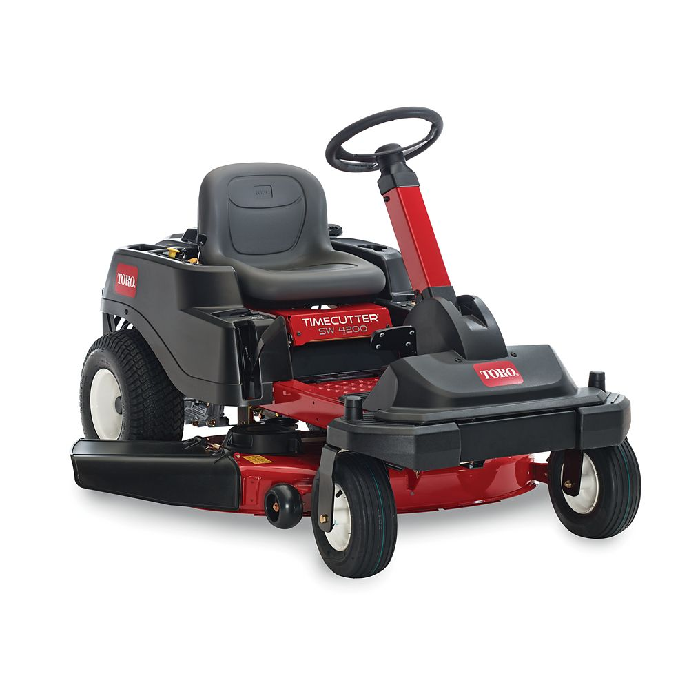 TimeCutter SW4200 42  Inch.  24.5 HP Toro V-Twin Zero-Turn Riding Mower with Smart Park