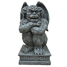 Statue de gargouille à DEL de 91,4 cm