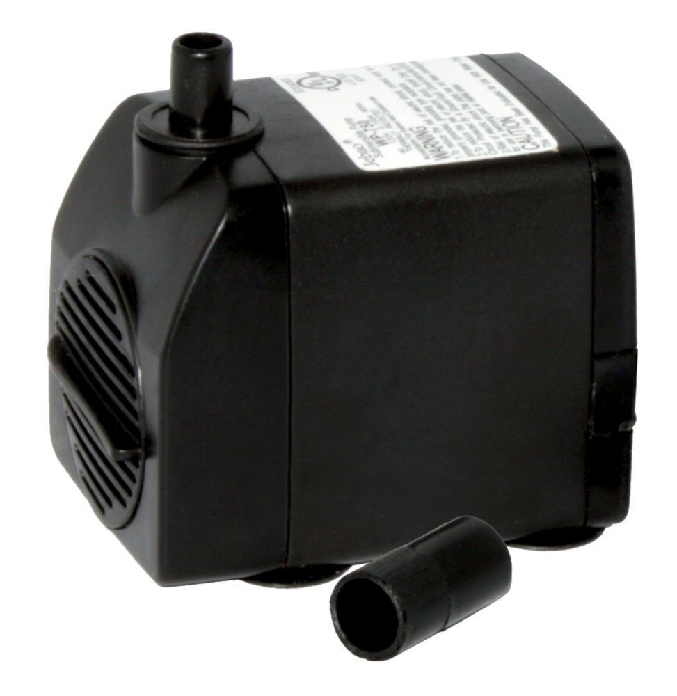 Pompe de fontaine 172 gal/h