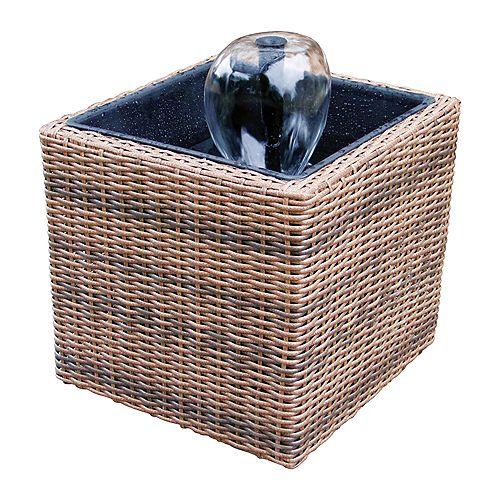 Koolscapes Wicker Deck/Balcony Pond Kit