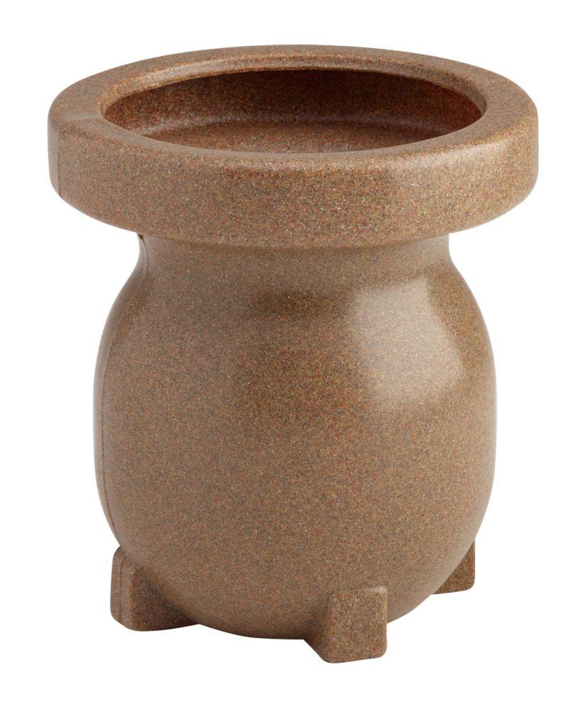 Small Decorative Planter - Sandstone-look