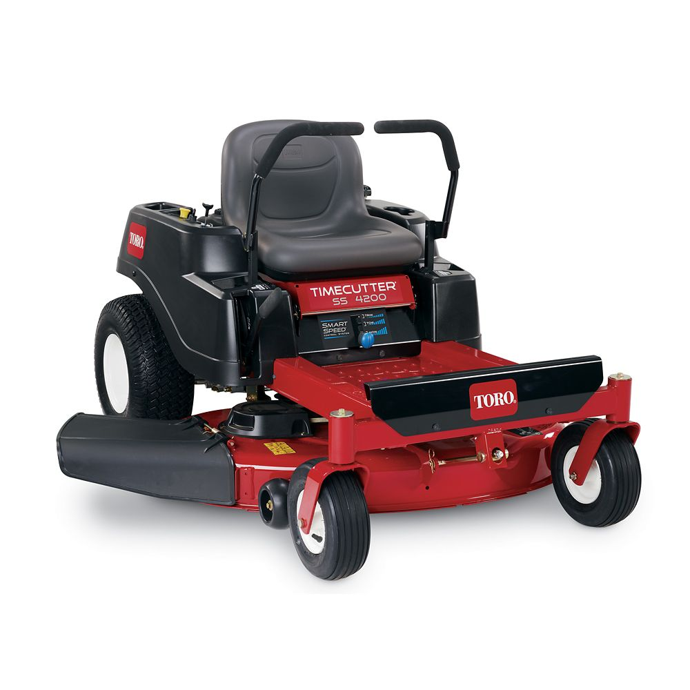 TimeCutter SS4200 42  Inch.  452cc Zero-Turn Riding Mower with Smart Speed