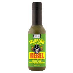 Aubrey D. Rebel Jalapeno Hot Sauce