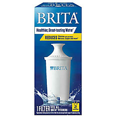 Water Filter Pitcher Advanced Replacement Filter, 1 Count