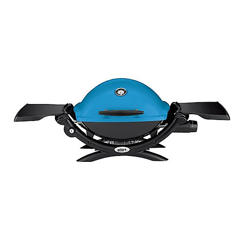 Q 1200 Portable Liquid Propane BBQ in Blue