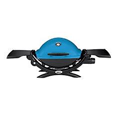 Q 1200 Portable Liquid Propane BBQ in Blue