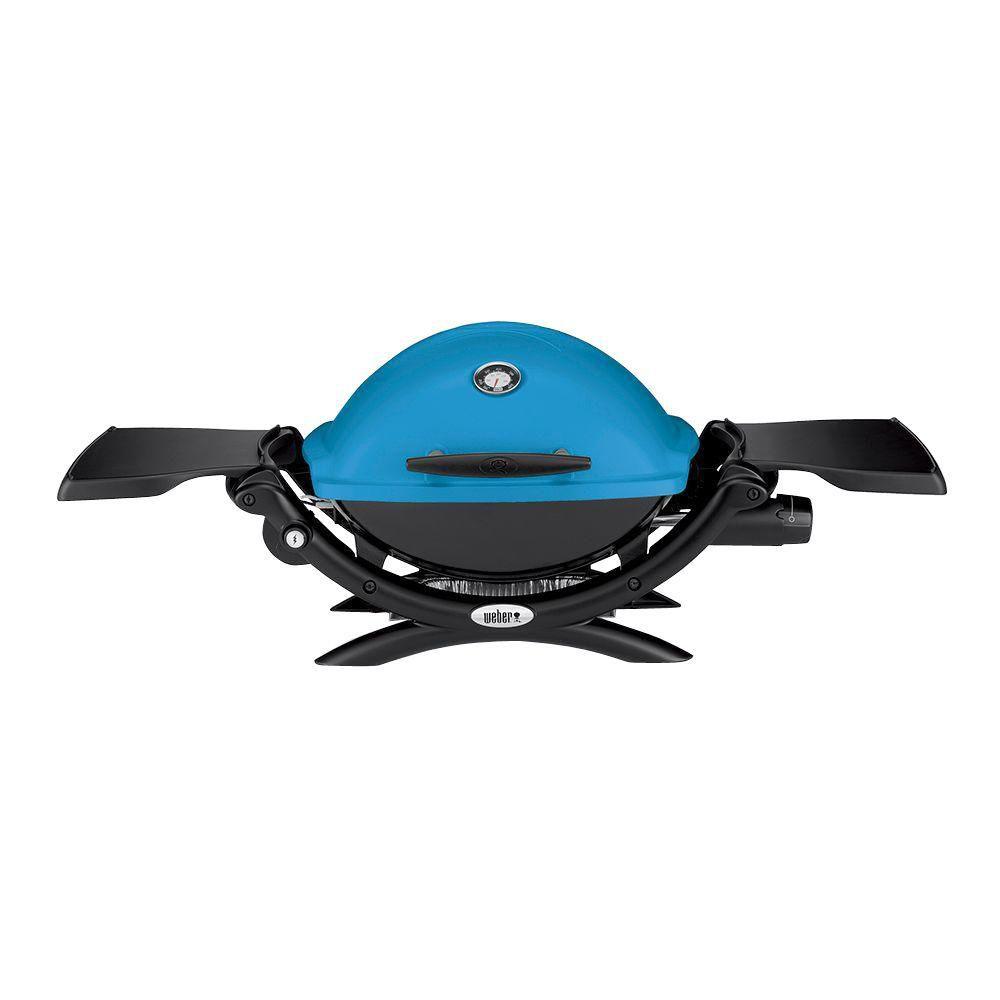 Q 1200 Gas BBQ LP in Blue
