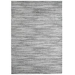 Lanart Rug Scandinavia Grey 3 ft. x 4 ft. 6-inch Indoor Contemporary Rectangular Mat