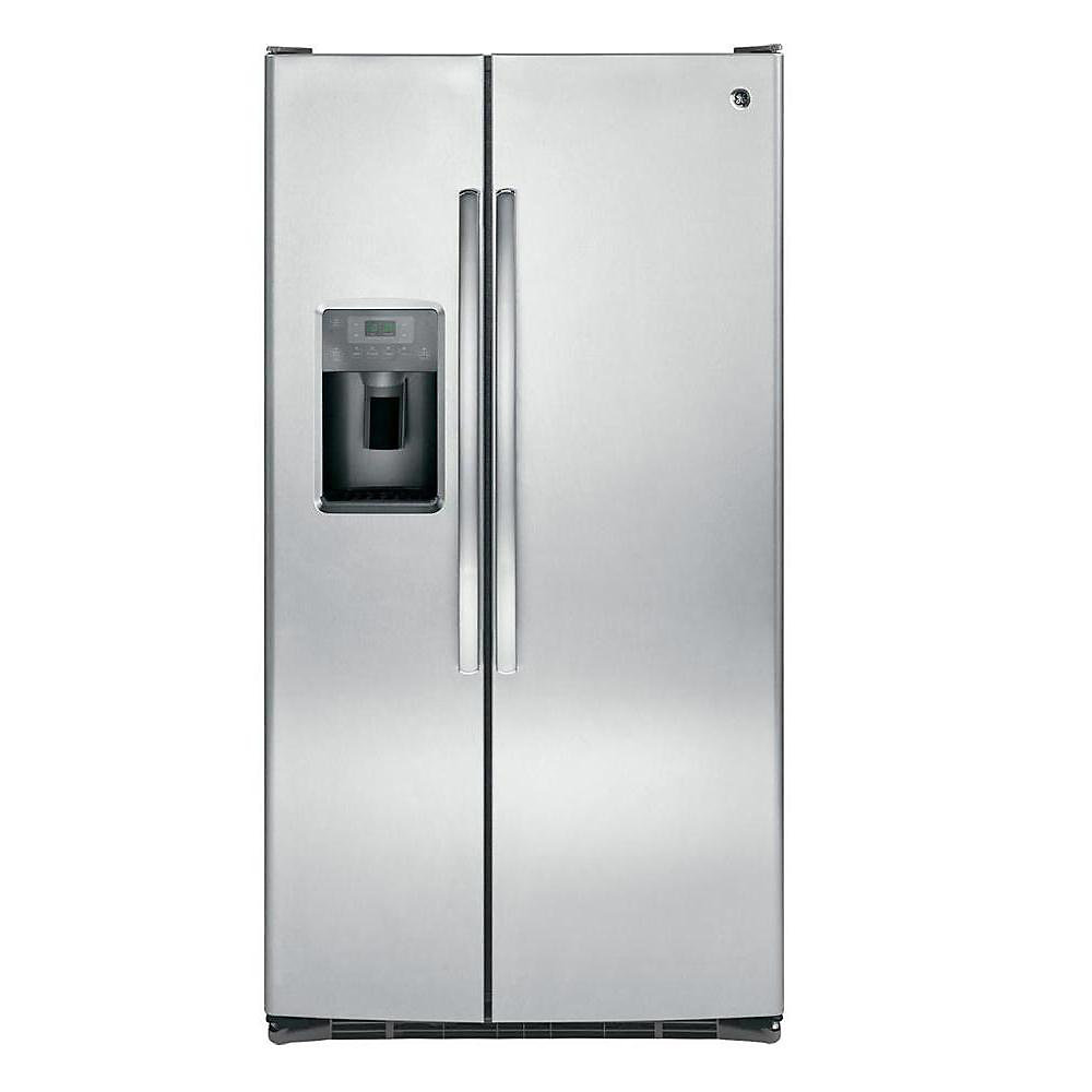 36-inch 25.4 cu. ft. Side by Side Refrigerator in Stainless Steel - ENERGY STAR®