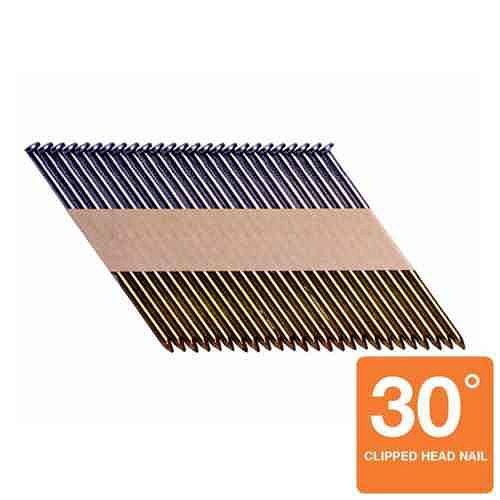 Grip-Rite 2-3/8 Inch  x .113 30 Degree Bright Smooth Shank Nails (1,000 per Box)