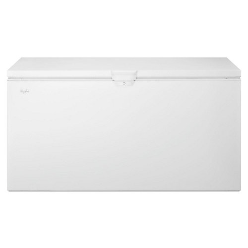 66-inch W 22 cu. ft. Chest Freezer with Extra Large Capacity in White